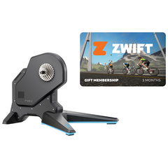 Tacx Flux 2 Smart trainer + Zwift membership card subscription 2019