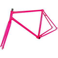 SuperCri Retrò fixed single speed fluo frame with junctions